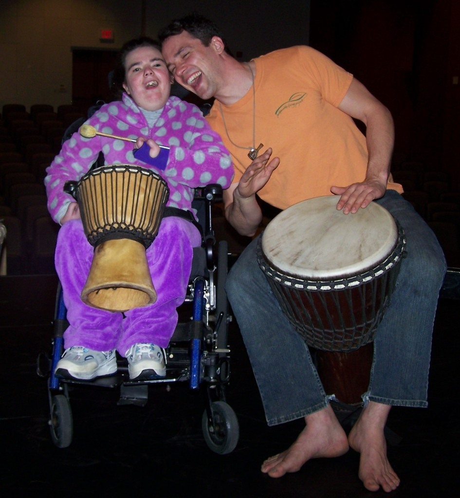 105 6629 945x1024 Drum for All People   Drumming for People with Disabilities